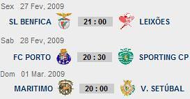 Liga Sagres - 20ª Jornada