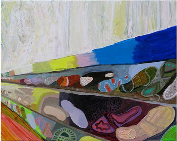 Sole Shop, acrylic on canvas,2003