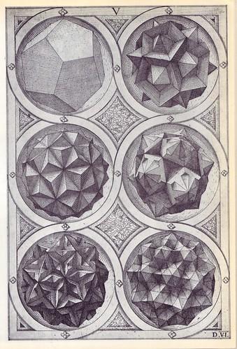 Coelum (b) - Perspectiva Corporum Regularium -  Wenzel Jamnitzer 1568