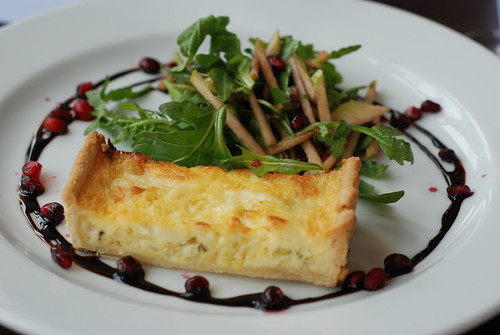Leek & Goats Cheese Tart