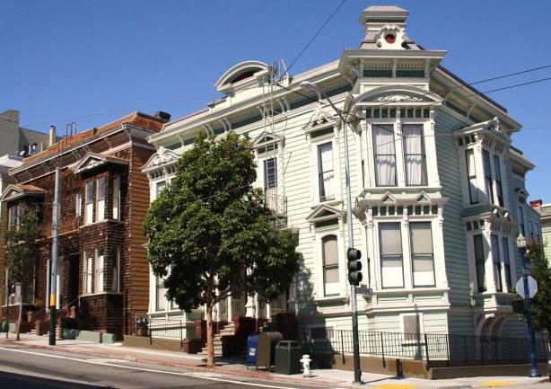 Haight Street houses