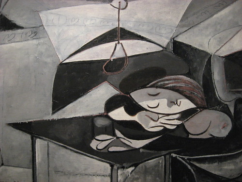 Girl Asleep On A Table - Picasso