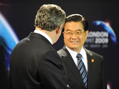 Hu Jintao at the G20 Smmit