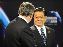 Hu Jintao at the G20 Smmit