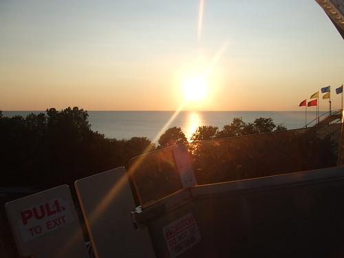 Overlooking Lake Erie