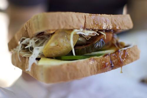 3 Sausage Sandwich