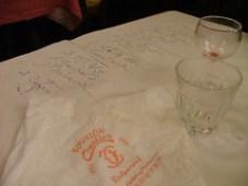 Table chez Chartier