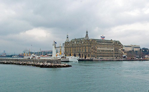 İstanbul, Haydarpaşa railway station