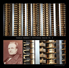 Charles Babbage's Difference Engine No. 2