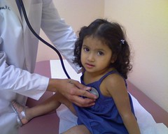 Alaethia Being Good At Her Check-up