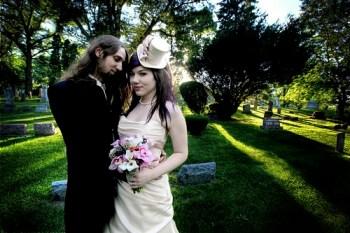 Cemetary Bridal Shoot