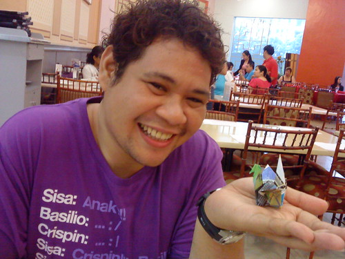 Paper Crane #13 | Enrico Dee, a seasoned Philippine Travel Blogger, the person behind Byahilo.com.