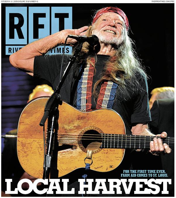 Concert Photos: Willie Nelson @ Farm Aid 2009