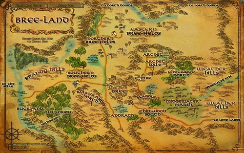 Map - Bree-Land 002