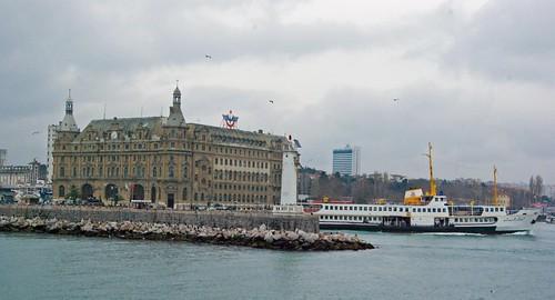 Haydarpasa Ferry Station, Istanbul, Turkey