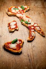 Italiano pizza mafioso spaghetti mandolino