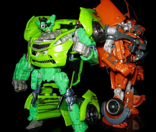Transformers Autobot Skids & Mudflap