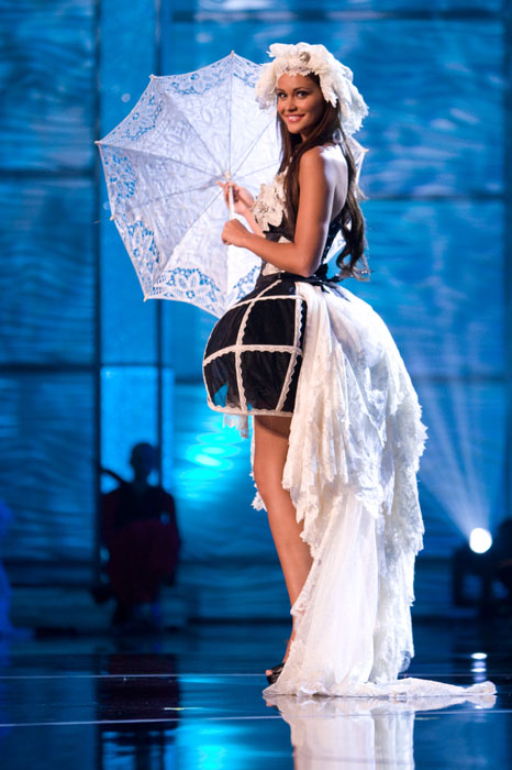 Traje Típico de Miss Bélgica