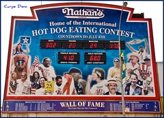 Nathans Hot Dog Eating Contest (w/video)