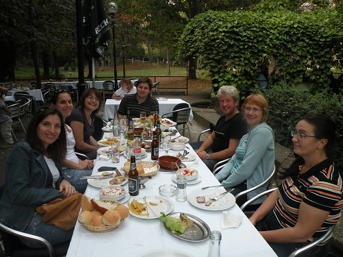Lunch With the Romanian Supporters
