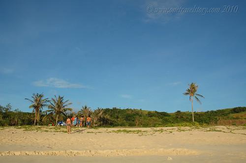 Camping grounds, Calaguas Island, Camarines Norte