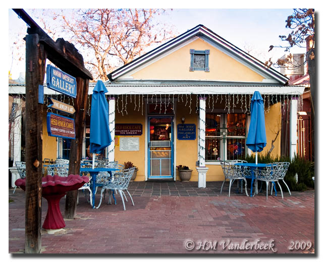 High Desert Gallery and The Red Rock Cafe