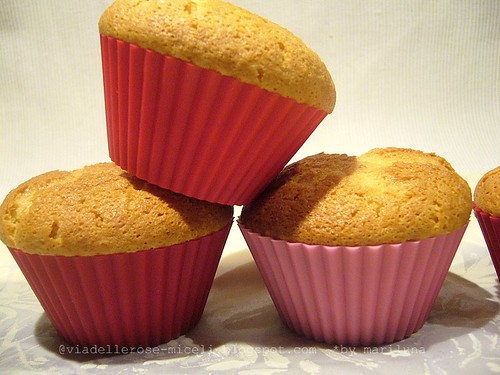 Muffins al miele d'arancio