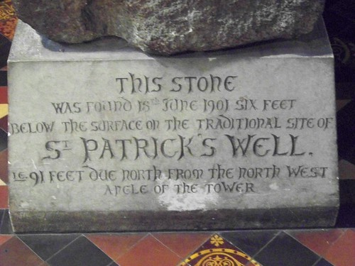 St. Patrick's well stone