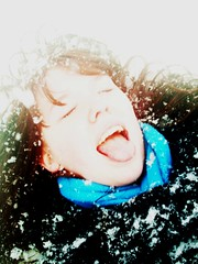 Snowflakes on my tongue