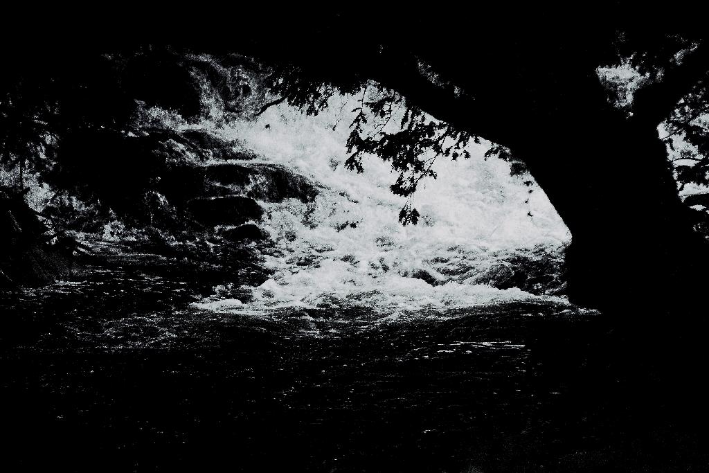 Cascade in an Irish River