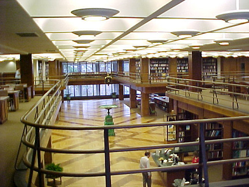 Linda Hall Library Inside