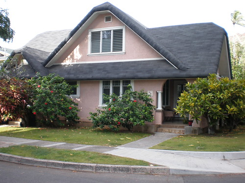 Tudor-revival cottage on Kiele Avenue at Coconut Avenue