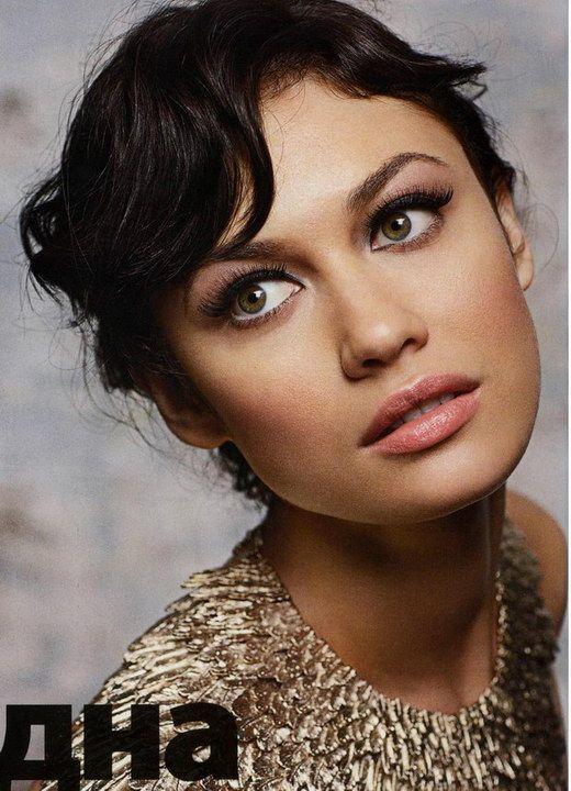 Ukraine Actress Olga Kurylenko Elle November 2008