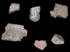 Pottery Sherds With Patterns