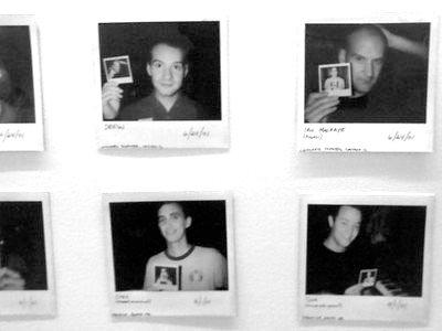 Neverending Polaroid b&w