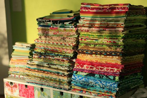 Fabric pile