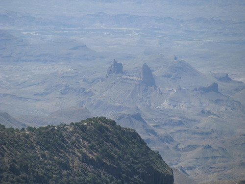 The summit offers a spectacular view of Mule Ears Peaks