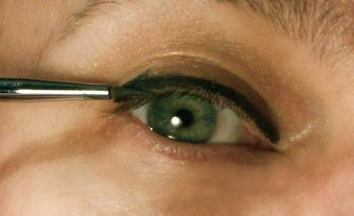 Step 1: Line with gel liner