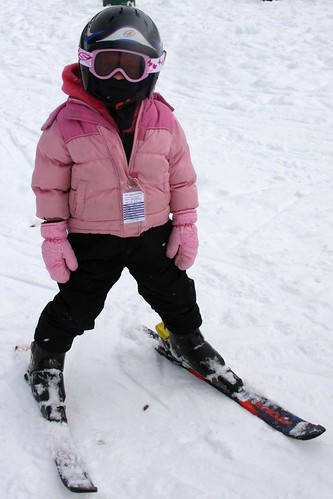 Learning To Ski At Chester Bowl