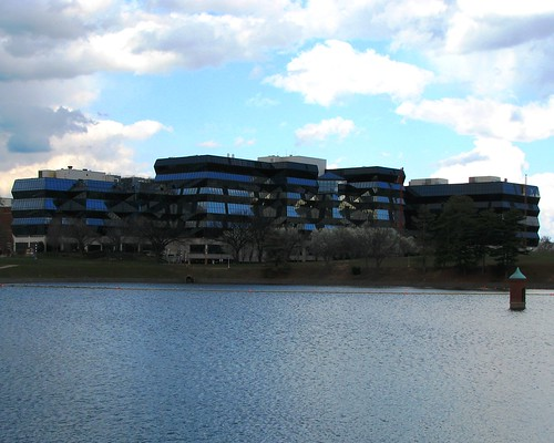 Childrens Hospital over McMillan Reservoir