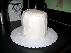 My pitiful cake wreck
