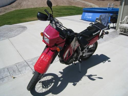 KLR650 Before