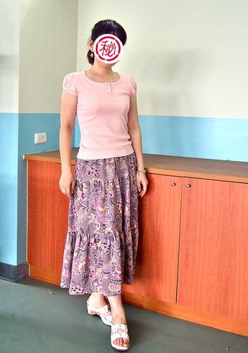 紫薔薇實穿照。