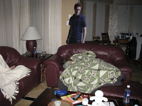 Edward watched them sleep. by QueenOfDallas.