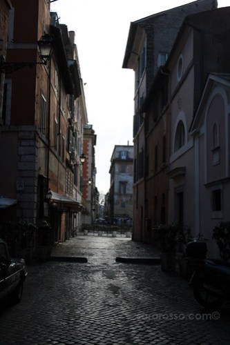 Abandoned Streets, Trastevere, Rome