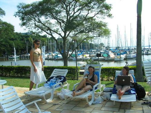 Com um restaurante ou bar nessa marina, eu não iria ao shopping