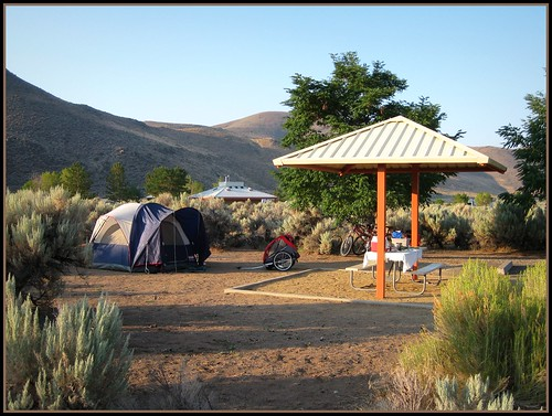 Bike Camping @ Washoe Lake
