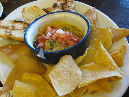 Queso Fundido at Agave Mexican Cantina