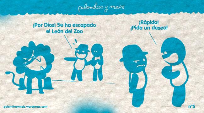 Al León - Palomitas y Maiz