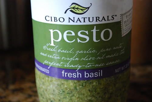 Pesto in a big jar